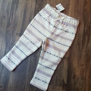 NWT The Children's Place Fleece Lined Pants 18-24M